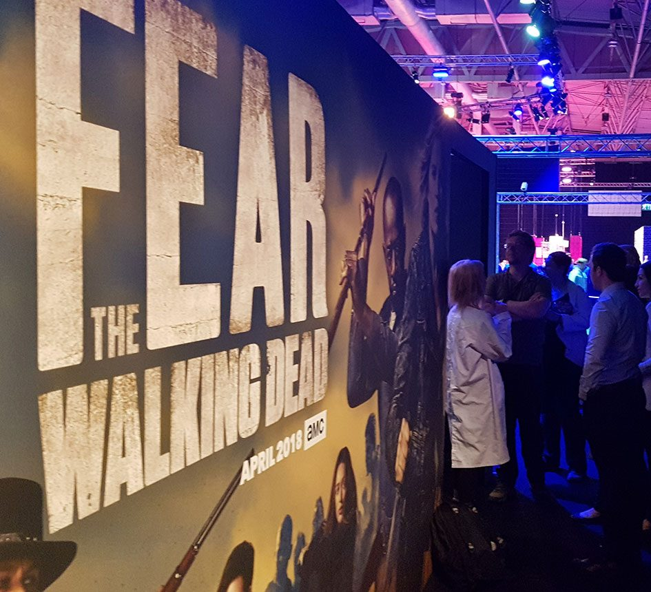 Sublime Promotions Lime Communications Events Agency London Soho Experiential Experience Events AMC AMC Networks BT Consumer Brand products Breaking Bad Fear The Walking Dead Zombie The Terror immersive experience