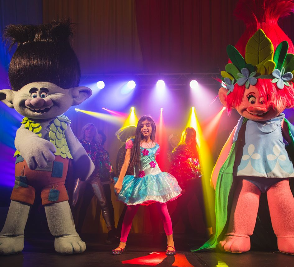Trolls 20th Century Fox Experiential Live Events Agency Film Studio Marketing Advertising Sublime Promotions Lime Communications