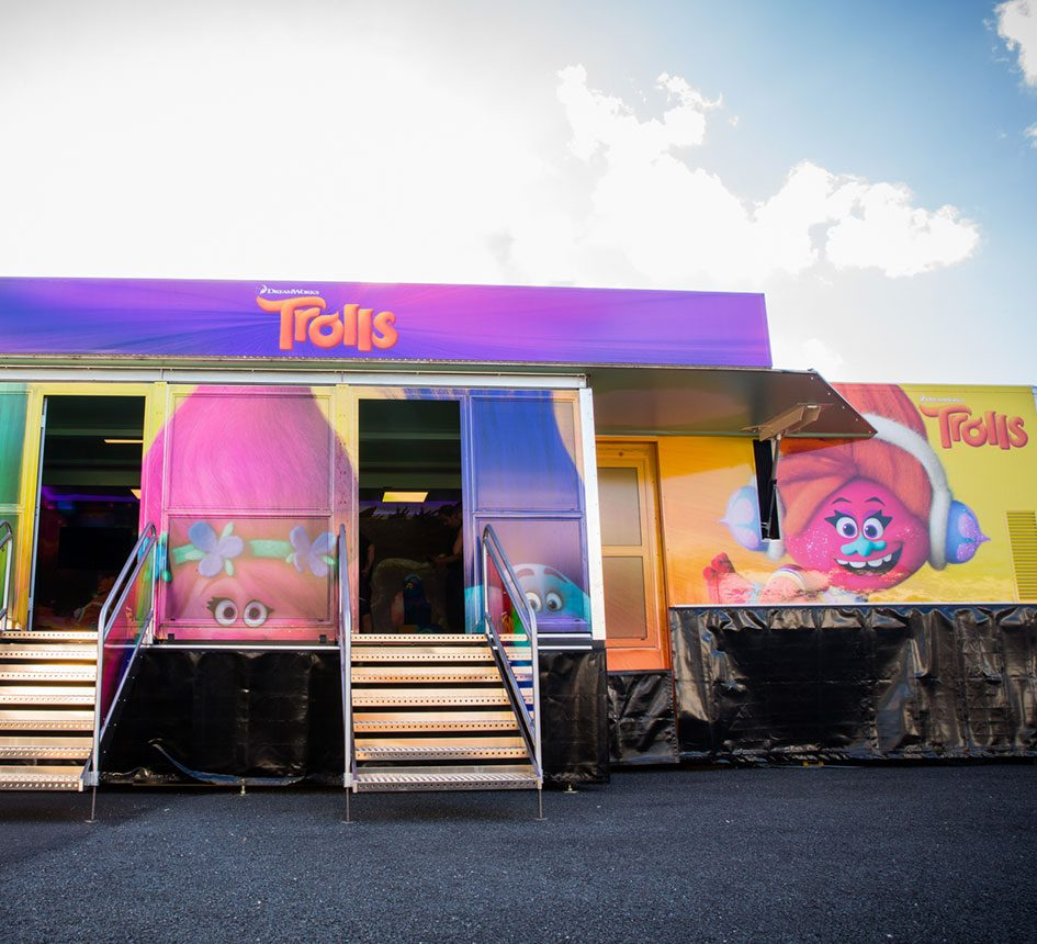 Trolls 20th Century Fox Experiential Live Events Agency Film Studio Marketing Advertising
